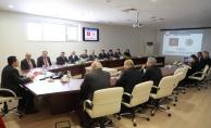 Valilikte Seçim Güvenliği Toplantısı Gerçekleştirildi