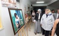 Bayan Balkanlıoğlu Yenikent HEM Yılsonu Sergisinin Açılışını Yaptı