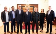 SGB'den Vali Balkanlıoğlu ve Başsavcı Dursun'a ziyaret