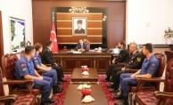 Vali Balkanlıoğlu 179. Yaşına Giren Jandarma Teşkilatı Mensuplarını Kabul Etti