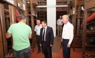 Vali Balkanlıoğlu AGDAŞ, SEDAŞ ve Sarılar Fındık Fabrikasını Ziyaret Etti