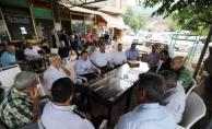 Vali Balkanlıoğlu Akyazı İlçesinde Temaslarda Bulundu