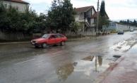 Akyazı'da metrekareye 40 kilogram yağış düştü