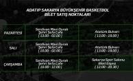 Europe Cup maçı biletleri satışta