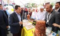 Balkanlıoğlu Pamukova Eko Pazar Doğal Ürünler ve Ayva Festivalinin Açılışını Yaptı