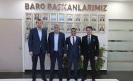 Toçoğlu Baro Başkanı Burak'a başarılar diledi