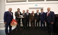 Vali Balkanlıoğlu Onuruna Veda Programı Düzenlendi