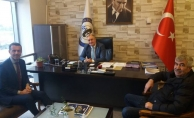 Ömer Bektaş'tan ticaretin kalbine ziyaret