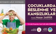 Sağlık konferanslarında konu: 'Çocuklarda Beslenme ve Kansızlık'