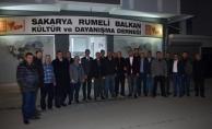 Samsunspor Kulüp BaşkanıRumeli Balkan Derneği'nde.