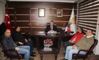 Osmanlı Ocakları'ndan AK Parti Sakarya İl Başkanı Yunus Tever'i ziyaret