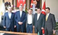 Ak Parti Sakarya Büyükşehir Belediye Başkan Adayında İlçe Teşkilatına Ziyaret