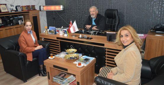TRT Haber'e Teşekkür Ziyareti