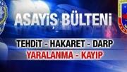 Sakarya için 24 Temmuz 2017 il Jandarma Asayiş Raporu