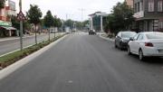 Sanayi Caddesi asfaltla buluştu