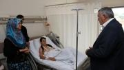 Toçoğlu hastalara sağlıklı günler diledi