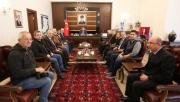 Vali Nayir Hayırlı Olsun Ziyaretlerini Kabul Etti