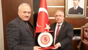 TBMM Genel Sekreteri Kumbuzoğlu'ndan Vali Nayir'e Ziyaret
