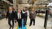 Vali NAYİR Türk Traktör Fabrikasını gezdi