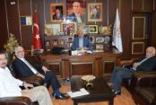 AGDAŞ Genel Müdürü Kenan Demir İspiroğlu'nu Ziyaret Etti