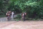 Maden Deresinde 8 kişi Mahsur Kaldı