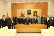 Rumeli Balkan'lardan Başkan Toçoğlu'na ziyaret