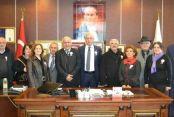 Başkan İspiroğlu'na Vergi Haftası Ziyareti