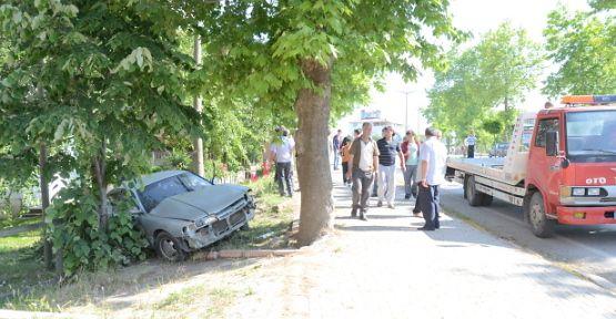 Yayla Sapağı'nda bir kaza daha