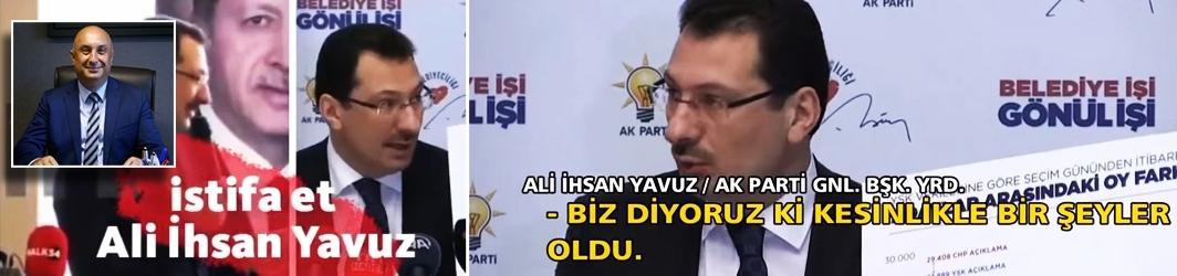 """Özkoç: """"Ali ihsan Yavuz sözünü tut; istifa et!"""""""