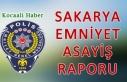 24 Haziran 2021 Sakarya İl Emniyet Asayiş Raporu