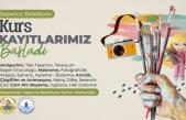 Sapanca Belediyesi Kültür Kurslarına Kayıtlar Başladı