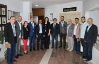 Rumeli Balkan Kültür'den Adapazarı Belediyesi'ne ziyaret