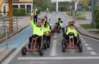 Çocuklar Trafik Park'ta Murat Ağabeyleri ile çok eğlendi.