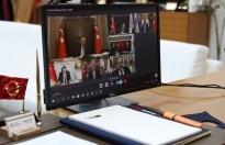 Başkan Yüce, Cumhurbaşkanı Erdoğan'la görüştü