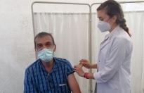 Aşı çadırları kuruldu