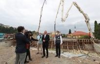 Başkan Ekrem Yüce, proje alanında açıkladı