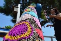 Poyrazlar Göl Evindeki Ağaca Yapılan Tasarım Büyük İlgi Görüyor