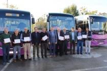 Özel Halk Otobüsü esnafına Erişilebilirlik Belgesi