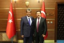 Filistin İstanbul Başkonsolosundan Vali Balkanlıoğlu'na Nezaket Ziyareti
