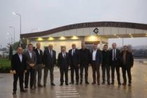 Vali Balkanlıoğlu Ordulu İş Adamlarıyla Hendek OSB'yi Gezdi