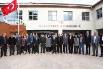 """Vali İrfan Balkanlıoğlu """"Muhtarlar Toplantısı"""" Kapsamında Karapürçek İlçesini Ziyaret Etti"""