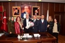 Fatih Sultan Mehmet Orta Okulundan İspiroğlu'na Teşekkür Ziyareti
