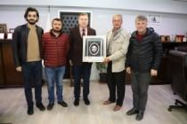 Makedonya Tüm Göçmenler'den; SMMMO'ya ziyaret