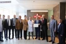 Vali Balkanlıoğlu il ekonomik toplantılarını Söğütlü 3.OSB'deki işverenlerle devam ettirdi