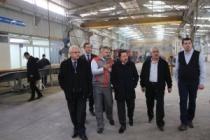 Vali Balkanlıoğlu Sakarya Paslanmaz Sanayi Fabrikasını Gezdi