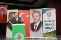 Erenler Ziraat Odası Kongresine Katılan Vali Balkanlıoğlu, Gazi Ziyaretinde de Bulundu