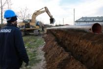 Karasu'da 30 kilometrelik hat yenileniyor