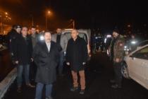 Vali Balkanlıoğlu yeni yıla görev başındaki polis ekipleriyle girdi