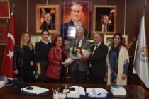 Fatih Sultan Mehmet Orta Okulundan İspiroğlu'na Teşekkür Ziyaret