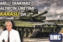 Milli Muharebe Tankımız ALTAY Karasu'da Üretilecek